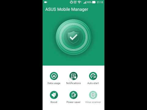 Asus Mobile Manager - new ZenUI function