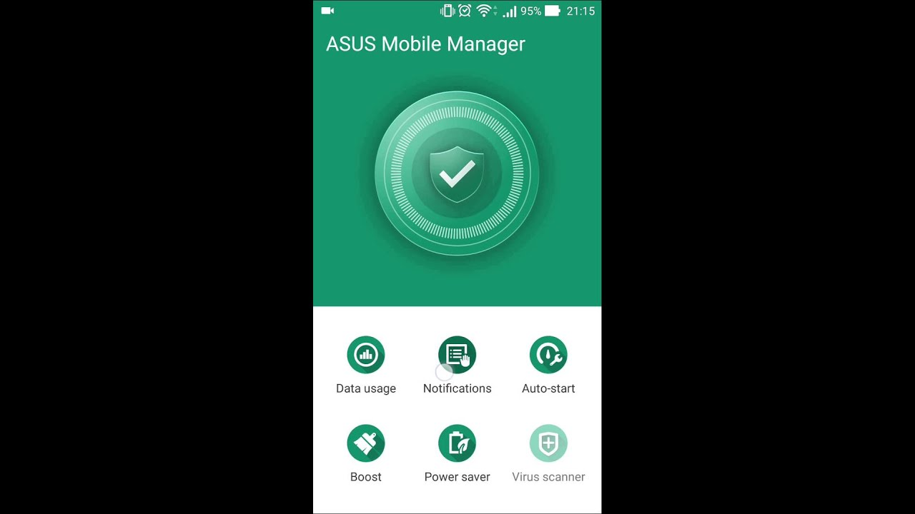 Asus Mobile Manager - new ZenUI function - YouTube