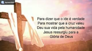 Rozeane Ribeiro - A Cruz Valeu Playback Legendado
