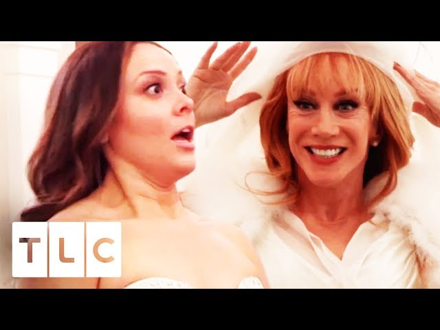 Kathy Griffin Has A Massive Surprise For One Of Her Best Friends! | Say Yes To The Dress US