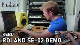 Kebu - Roland SE-02 Demo