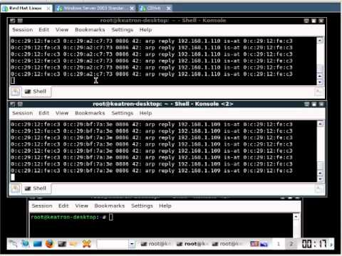 Man In The Middle Attack - Ethical Hacking Example
