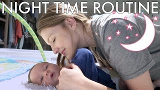NIGHT TIME ROUTINE 2019 | Newborn and Two Toddlers | Realistic
