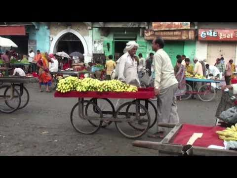 The market of Una (Gujarat - India)