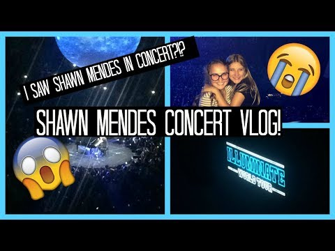 SHAWN MENDES CONCERT VLOG 2017// MONTREAL CANADA AUGUST 14th