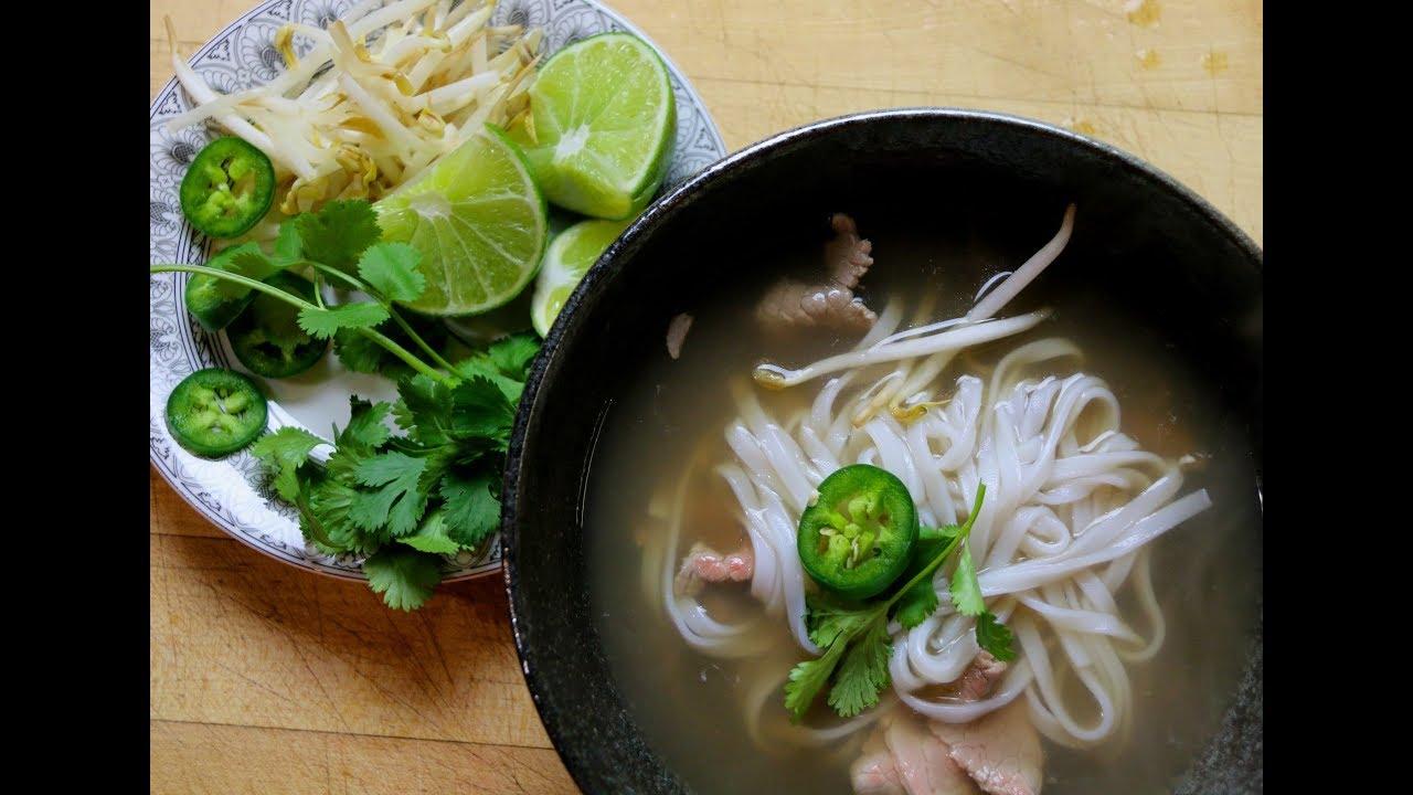 Delicious And Easy Beef Pho Kimchi Cornbread Youtube