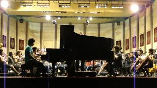 Ravel: Concierto para la mano izquierda - fragmento del ensayo - Javier Villegas
