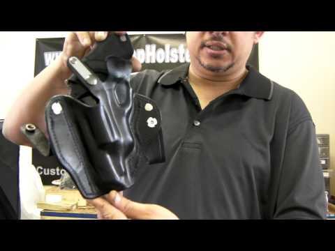 Custom Made IWB Polymer Taurus Judge Holster With Thumb break