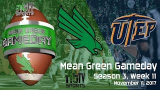 Mean Green Gameday - Season 3, Week 11 vs UTEP - Homecoming
