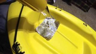 Kayak Hull Repair: HDPE Plastic Rod Welding Tutorial Using Basic Tools