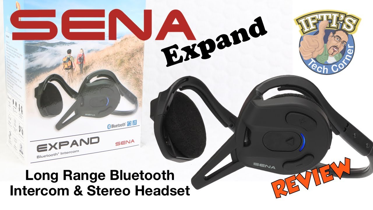 Sena Expand Bluetooth Intercom Stereo Headset Review Youtube