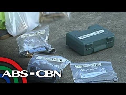 TV Patrol: Vice mayor na idinadawit sa kidnapping, nakuhanan ng baril, granada sa bahay