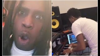 Chief Keef Flies Zaytoven To His House To Make Sickest Beat Ever