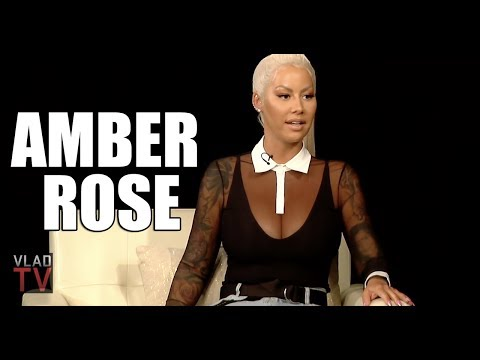"Amber Rose on 21 Savage Holding Up ""I'm a Ho, Too"" Sign (Part 4)"