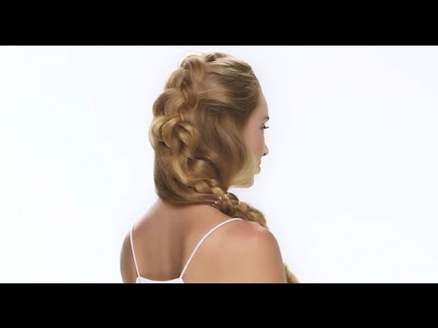 Mermaid Braid How-To Using the Invisibobble Traceless Hair Ring ... 4be6ed3b73c