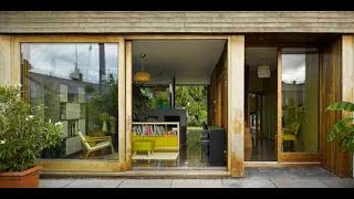 MODERN TIMBER HOUSE OPEN PLAN DESIGN