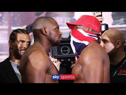 HEATED WEIGH IN!   Dillian Whyte vs Derek Chisora 🥊⚖️