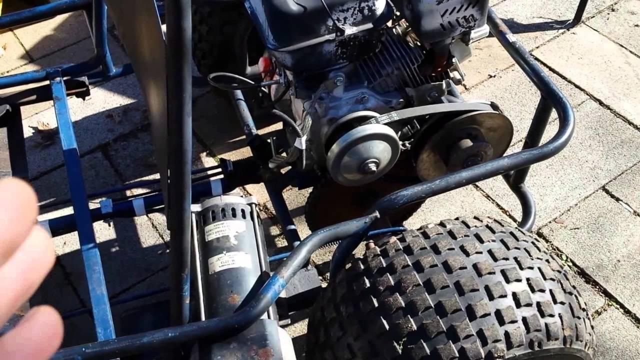 Predator 206 Electric Hybrid Gokart Buggy Update Musings 3