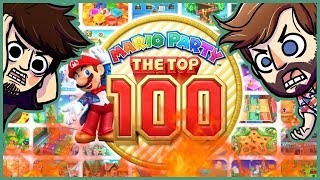 THEY MESSED IT UP?!? | Mario Party Top 100 (Part 1)