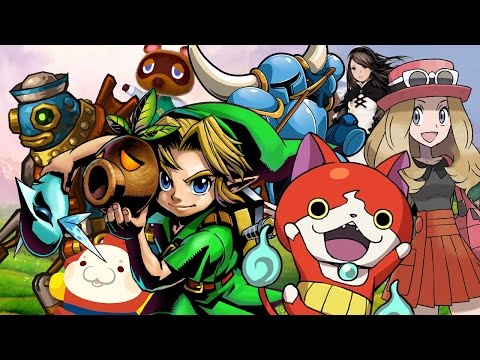Top 25 Nintendo 3DS Games (Spring 2016)
