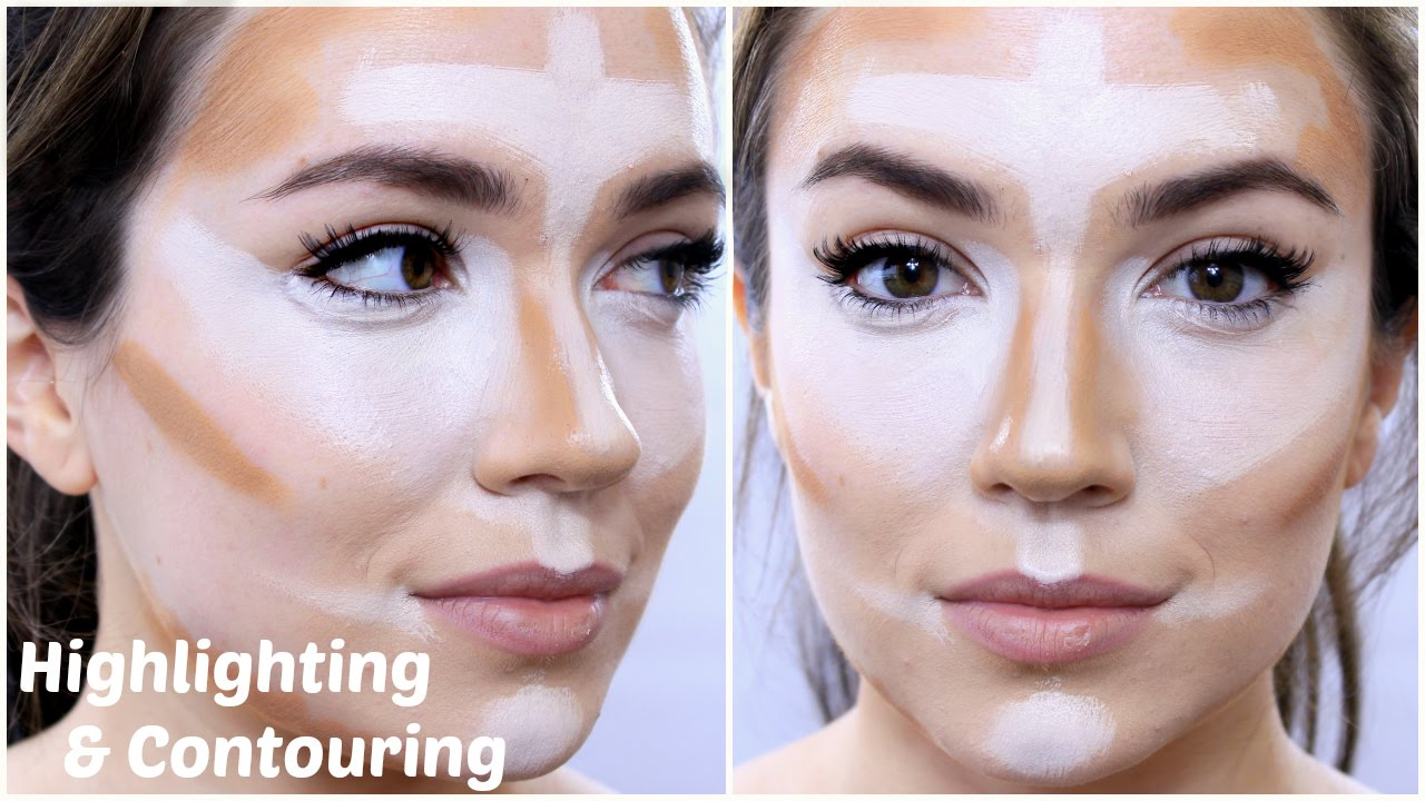 Highlighting and Contouring | 5 Steps | TheMakeupChair - YouTube