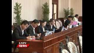 Lao NEWS on LNTV: The gov agrees in principle the draft decree..28/7/2015