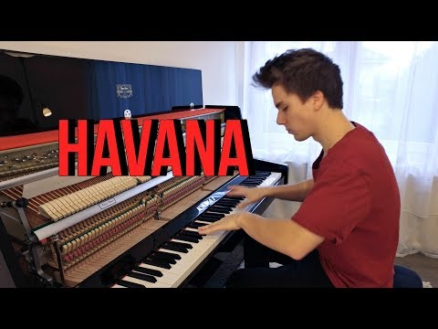 Havana Piano Cover by Peter Buka