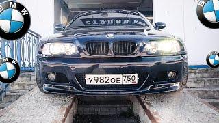 Авто обзор Заряженная BMW e 46/бмв