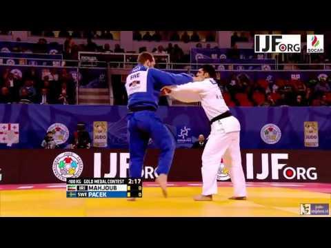 Judo 2016 Grand Prix Tbilisi: Mahjoub (IRI) - Pacek (SWE) [-100kg] final