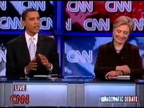 Obama on the Relevance of Clinton's Iraq War Vote