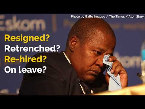 Resigned? Unpaid leave? Here's a timeline of all things Brian Molefe