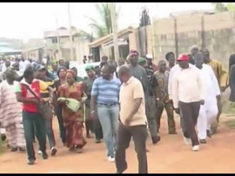 WILD,DANGEROUS ANIMALS CONVERGE IN IKORODU, NIGERIA - FESTOUR