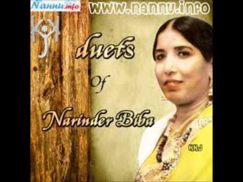 Ladoo Kha Ke Turdi Bani - Duet - Narinder Biba & Karnail Gill