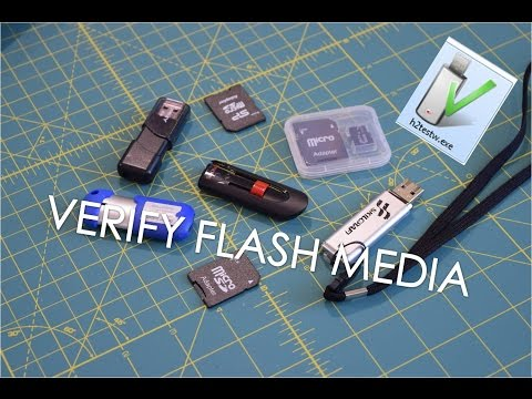 Software Sunday EP7: Verify Flash Media With H2testw
