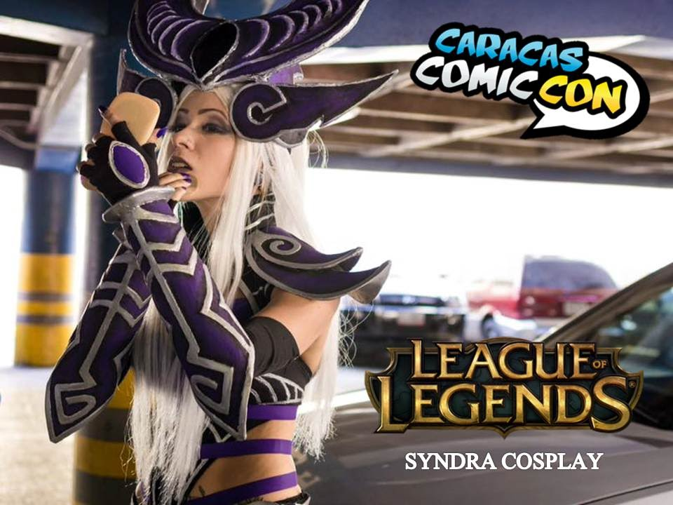 Cosplay Syndra League Of Legends Caracas Comic Con 2015 Youtube