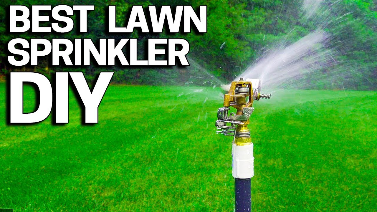 Best Lawn Sprinkler Diy Without An
