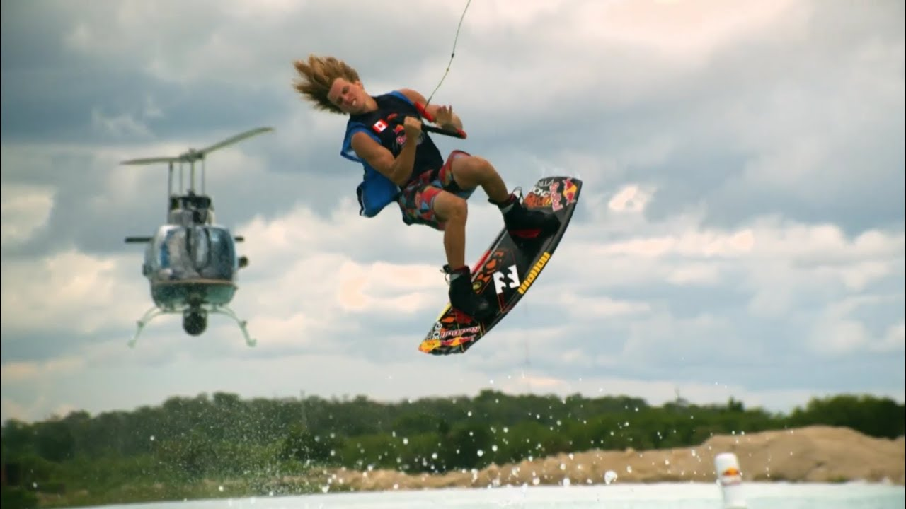 Iss Hd Wallpaper Park Boat And Big Air Wakeboarding Red Bull Wake Open