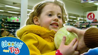 Woolly and Tig - Food Shopping | TV Show for Kids | Toy Spider