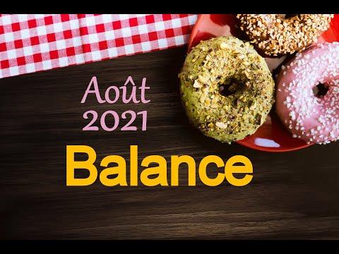 Balance 🍩 Août 2021 - 'Vous affrontez vos peurs'
