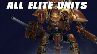 Dawn of War 3 All Elite Units