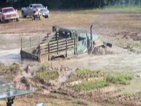 ShowMeMudders mudding in M35A2 Military Duece Offroad at Bricks