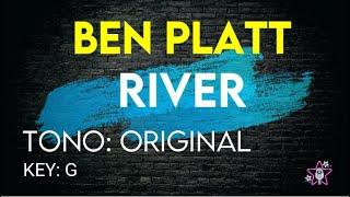 Ben Platt - River - karaoke instrumental (Version Netflix-Politician)