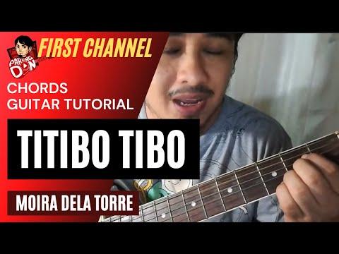 Guitar Tutorial - Titibo Tibo - Chords from Pareng Don's guitar cover KaraoChords video