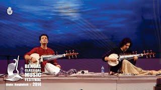 Amaan Ali Khan & Ayaan Ali Khan at The Bengal Classical Music Festival 2014, Dhaka, Bangladesh