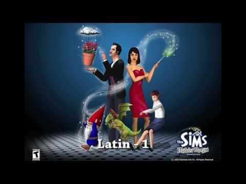 Sims 1- Latin 1 - How You Doin'/Cocktails Anyone?  (Jerry Martin)