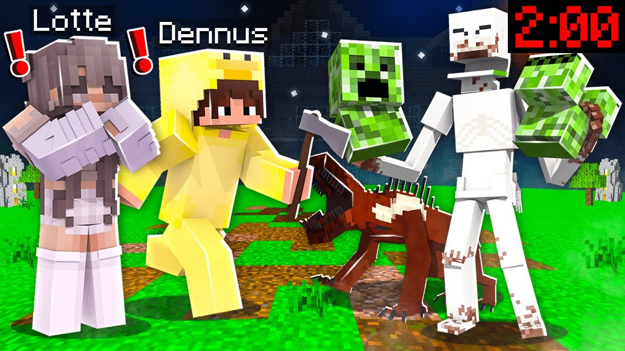 Minecraft Spelen Om 200 s nachts ZO ENG