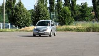 ABS test Nissan Micra