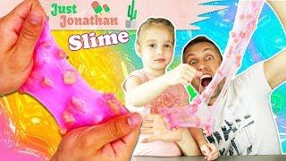 CRUNCHY SPONGE SLIME ! On teste un kit de slime concocté par JustJonathan ! Crash Test !