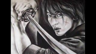 Drawing Rurouni Kenshin