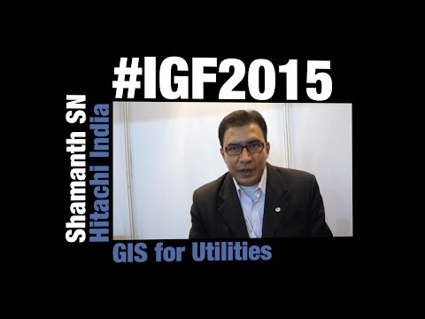 Hitachi India - GIS Solutions for Electric Utilities